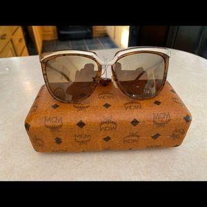 MCM Signature sunglasses brown NWT